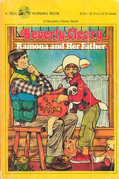 Ramona and her Father (book by Beverly Cleary My Childhood Memories, Childhood Toys, I Love Books, Good Books, Ramona Books, Beverly Cleary, Up Book, Chapter Books, Old Movies