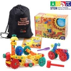 Having STEM Toys Available For Your Twinnies Can Help Them Learn While They Have Fun