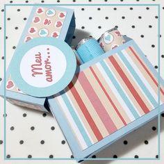 DIY: Mini caixinha de batons de chocolate