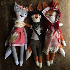 Custom Fox Doll by MeganMakesShop on Etsy