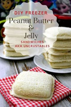 DIY Uncrustables Peanut Butter and Jelly Freezer Sandwiches Recipe and Tutorial via The Crafting Chicks - Save money by making you DIY Freezer Peanut Butter and Jelly Sandwich. Keep a stash of these in the freezer and throwing together lunches will be a breeze.