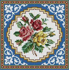 PŘEDLOHY PDF VYŠÍVÁNÍ KŘÍŽKOVÝM STEHEM NA POLŠTÁŘE - cross-stitch  embroidered  PDF on the pillow     download pdf