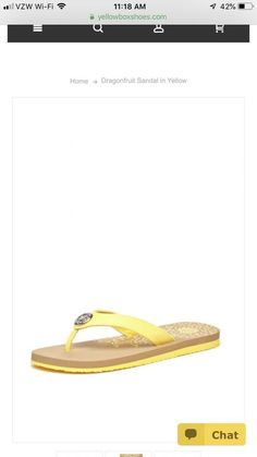 012e4e112c20 Yellowbox Dragonfruit Yellow Flipflops Size 10  fashion  clothing  shoes   accessories  womensshoes  sandals (ebay link)