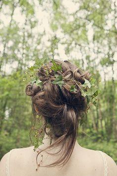 Cottingley Fairies Inspired Woodland Bride Photoshoot...