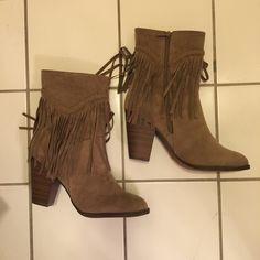 Cute Fringe Boots