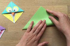 Fabriquez de jolis marque-pages en papier avec les enfants!