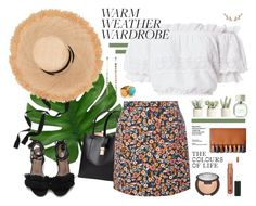 """""""salsa"""" by freshbycait ❤ liked on Polyvore featuring LoveShackFancy, H&M, Allstate Floral, Dorothy Perkins, Rebecca Minkoff, Allurez, Ottoman Hands, Anastasia Beverly Hills and Becca"""