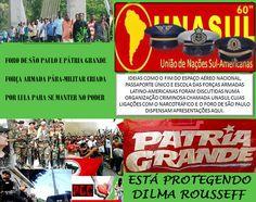 O GOLPE FOI DADO Em 19 de agosto de 2015 o Brasil oficialmente se tornou um país membro da Pátria Grande. Perdemos para o Comunismo da América do Sul, perdemos para o Foro de São Paulo, perdemos pa…