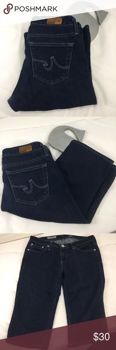 🆕AG 'The Malibu' Bermuda length short size 27 AG 'The Malibu' Bermuda length short in good used condition. Thigh area shows some wear, so please see photos. Let me know what questions you have! Size 27. 30% cotton, 45% rayon, and 25% poly. Made in USA. Super soft jeans!  Inseam = @13.5 inches Rise = @8 inches Waist = @29.5 inches AG Adriano Goldschmied Shorts Bermudas