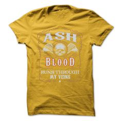 ASH blood in your heart T-Shirts, Hoodies. SHOPPING NOW ==►…