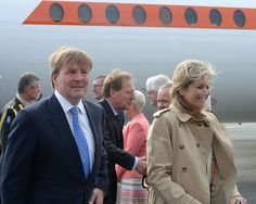 MyRoyals:  State Visit to Canada, St. John's Newfoundland, May 27, 2015-King Willem-Alexander and Queen Maxima began a three-day visit to the nation; the Dutch royal family has a particularly close connection to Canada as Willem-Alexander's grandmother, mother, and aunts spent World War II there in exile and Princess Margriet was born there in 1942.