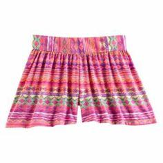Mudd Striped Shorts - Girls 4-6x