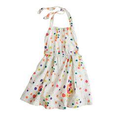 J.Crew - Girls' apron dress in wildflower print