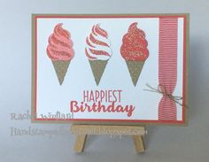 Sparkling Cool Treats, Stampin Up Occasions 2017