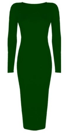Womens Ladies Celebrity Inspired Long Sleeve Bodycon Midi Calf Length Dress - Normal and Big Sizes (XL/XXL (20-22), Khaki) Baleza http://www.amazon.co.uk/dp/B00G48DFG8/ref=cm_sw_r_pi_dp_goBBwb1SQ8TBZ