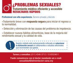 Sexología masculina. Tratamineto discreto, eficaz, rápido y económico
