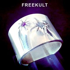 Bague CRATERE - CRATER ring - www.freekult.com