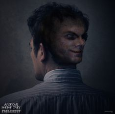 American Horror Story: Freak Show Concept Art Of Wes Bentley's Second Face American Horror Story Art, Edward Mordrake, Two Faces, Urban Legends, Ghost Rider, Woman Face, Concept Art, How To Look Better, Handsome