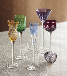 Roost Soirée Aperitif Glasses Set of 6 Colors