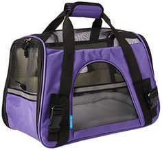 OxGord Airline Approved Pet Carriers w/ Fleece Bed For Do…