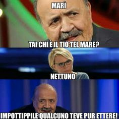 Funny Images, Funny Pictures, Funny Cute, Hilarious, Italian Memes, Savage Quotes, Funny Phrases, Funny Scenes, Sarcasm Humor