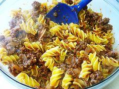 The Gluten Free Spouse: Gluten Free Lasagna Casserole - easy one bowl method