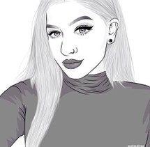 art, draw, drawings, draws, girl