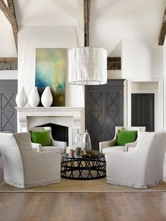 Melanie Turner Interiors - lovely and simple use of color throughout (melanieturnerinteriors.com via Desire to Inspire)