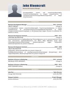 creative formal free resume template by hloom com formatos cv
