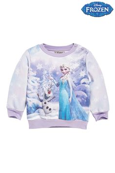 Buy Lilac Disney Frozen Crew (3mths-6yrs) from the Next UK online shop