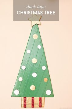 Duck Tape Christmas Tree