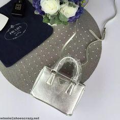 Prada Mini Galleria Saffiano Leather Bag