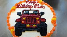 Jeep Wrangler by JLassan Designs Jeep Cake, 80 Birthday Cake, Graduation Party Themes, Cake Decorating Tips, Themed Cakes, Party Cakes, Let Them Eat Cake, Holiday Parties, Sweet 16