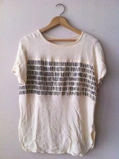DIY hand-painted t-shirt