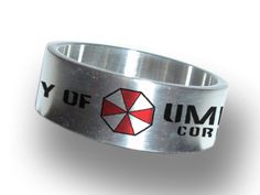 Resident Evil Umbrella Corporation Steel Ring!