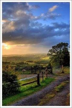 Rural Monmouthshire, Wales....I could live here, looks very peaceful