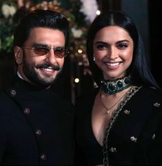 Deepika Padukone and Ranveer Singh Won Our Hearts With Their Ravishing Appearance At Priyanka Nick's Reception - HungryBoo Bollywood Couples, Bollywood Wedding, Bollywood Stars, Bollywood Celebrities, Bollywood Fashion, Bollywood Actress, Indian Celebrities, Deepika Ranveer, Deepika Padukone Style