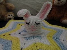 Caron Free Crochet Patterns | Crochet Crazy Mama: Newest Pattern! - Sleepy Bunny Lovey