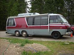 Le camping-car Passe partout: GMC motorhome