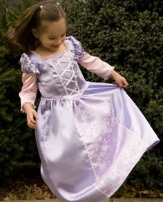 Rapunzel Inspired Princess Dress on Etsy, $109.00