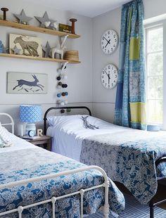 patchwork child's bedroom