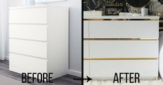 Or transform your Lack headboard into one with some spice. | 42 Tricks To Transform Every Ikea Item You Own
