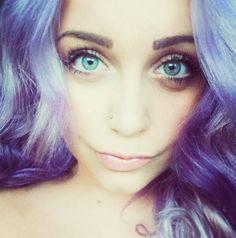 My lilac hair