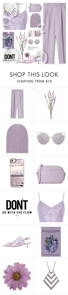 """LILAC"" by hallode ❤ liked on Polyvore featuring Paul & Joe, Wyld Home, Barneys New York, Matthew Williamson, Casetify, Steven Alan, River Island, NOVICA and Trina Turk"
