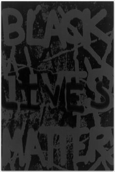 Black Lives Matter #2 by Adam Pendleton on Curiator, the world's biggest collaborative art collection.