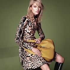 gucci-autumn winter 2014-ad campaign-new designer handbags-1960s trend