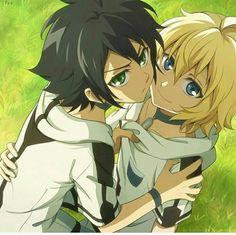 Mika and protective Yuu