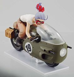 Crunchyroll - DESKTOP REAL McCOY - Dragon Ball Z 03: Bulma Figure Goes On Sale