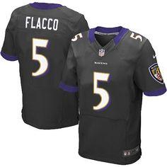 Black Joe Flacco jersey