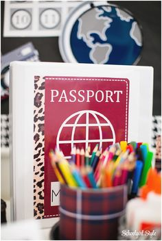 Travel around the world with this amazing classroom theme! Grab your passport and luggage, and don't forget your camera! Be ready for a year of ADVENTURE with the Schoolgirl Style World Tr…
